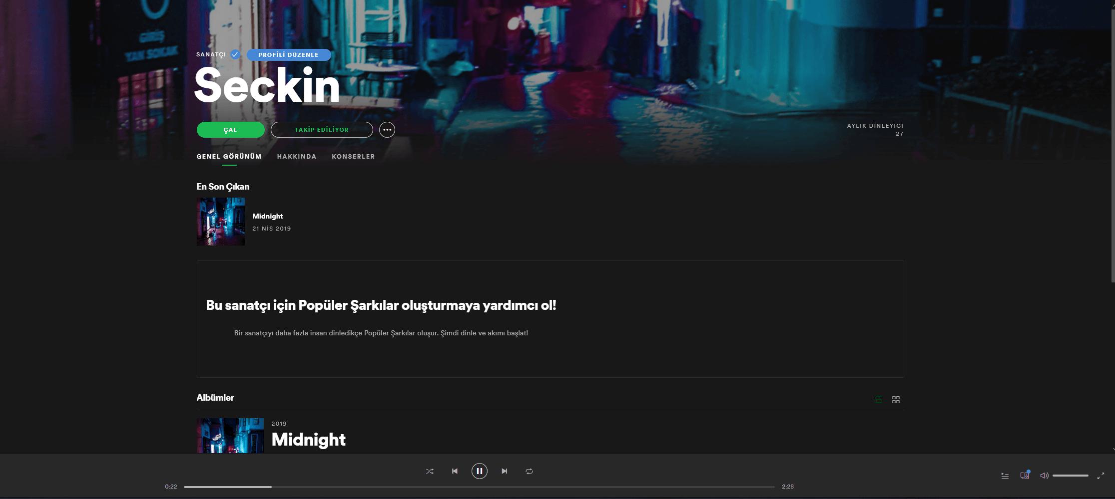 Müzik Lisaslama ve Spotify Gönderme